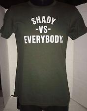 EMINEM SLIM SHADY LE DETROIT SHADY VS EVERBODY T-SHIRT RARE SIZE M