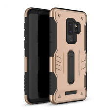 For Samsung Galaxy S9, Plus Case Slim Rugged Protective Defender Kickstand Cover