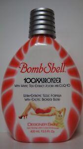 NEW Designer Skin BombShell 100XX Bronzer Ultra Extreme Sizzle Formula