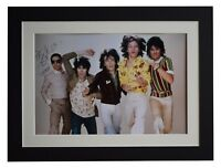 Charlie Watts Signed autograph 16x12 photo display Rolling Stones Music COA