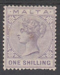 MALTA 1885 QV 1/-