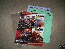 2009 Daytona 200 Event Program Signed by James Stewart