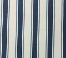 BALLARD SUZANNE KASLER NANTUCKET STRIPE BLUE SUNBRELLA OUTDOOR FABRIC 1 YARD