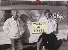 1984 PARIS DAKAR  LAND ROVER 110 LEE COOPER GERARD DEPARDIEU RALLYE 1985