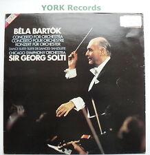 SXDL 7536 - BARTOK - Concerto For Orchestra / Dance Suite SOLTI - Ex LP Record