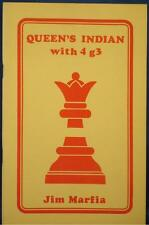 QUEEN'S INDIAN WITH 4 g3 by Jim Marfia CHESS BOOK / NEW