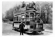 pt3799 - Tram no 228 to Fulwood , Sheffield , Yorkshire - photo 6x4