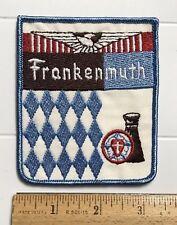 Frankenmuth Michigan MI German Little Bavaria Embroidered Souvenir Patch