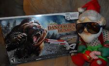 NEW CABELA'S DANGEROUS HUNTS 2013 Wii /Wii-U  Gun and Game