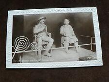 Old 1930 Photo Postcard: Tam O'Shanter + Souter Johnny, Ayr, Embossed Border