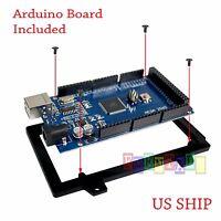 Black Cased MEGA 2560 R3 Board ATmega2560-16AU CH340G + USB Cable for Arduino