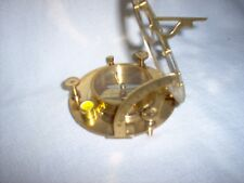 """Decorative Brass compass, new without tags,4.5"""""""