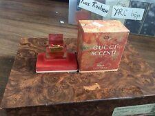 Femme GUCCI ACCENTI PERFUME 0.25 FL oz / 7.5 ML Pure Extrait Parfum Splash 1/4oz