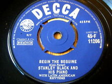 "STANLEY BLACK AND HIS PIANO - BEGIN THE BEGUINE  7"" VINYL"