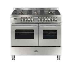 Britannia Delphi 100cm Double Oven Dual Fuel Range RC−10TG−DE-S 544440112