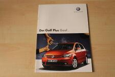 68387) VW Golf plus Goal Prospekt 02/2006