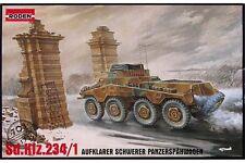 RODEN 703 1/72 Sd.Kfz.234/1 Aufklarer Schwerer Panzerspähwagen