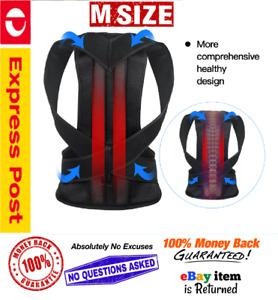 Magnetic Posture Corrector Straightener Shoulder Back pain Support Belt (Medium)