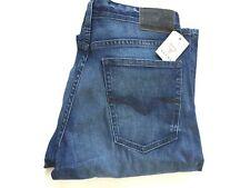 Guess Men's Regular Boot Cut Jeans Dark Blue Size 32