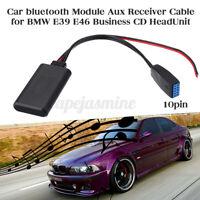 Auto bluetooth Audio Musica Adattatore Aux Ricevitore Cavo Per BMW E39 E46