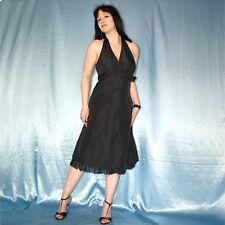 Gothic schwarzes COCKTAILKLEID* M 40 * Minikleid* Partykleid* Abendkleid
