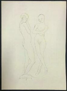 LITHOGRAPH Rudolf Grossmann ~ GERMAN EXPRESSIONIST ~ 1920 Signed DEGENERATE ART