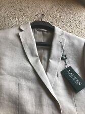 Lauren Ralph Lauren Boys Linen Jacket, Tan Color Size 18R
