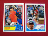 2018 Topps Series 2 1983 All Star & Rookies You Pick from Drop List
