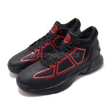 adidas D Rose 10 X Derrick Black Scarlet Red Men Basketball Shoes Sneaker G26162