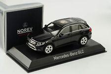 Mercedes-Benz Glc Class 2015 Black 1:43 Norev 351311 Diecast