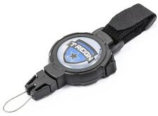 KR_HD09_120_BVS  Key Reel with 120cm Kevlar cord, Hold Button,Hook & Loop Strap