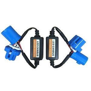 Set(2) 9007 HB5 LED Headlight NO Error Warning Decoder Load Resistor Canbus