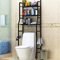 3 Tier Over Toilet Shelf Rack Bathroom Space Saver Towel Storage Organizer
