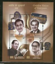 India 2003 Golden Voices of Yesteryears Music Cinema Sc 2007a / SG 2133 M/s MNH