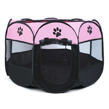 Foldable Pet Exercise Kennel Dog Run Puppy Cat Playpen Cage Pet Delivery Room WA
