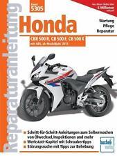 REPARATURANLEITUNG Band 5305  Honda CBR 500 R , CB 500 F ab Bj. 2013 NEU !