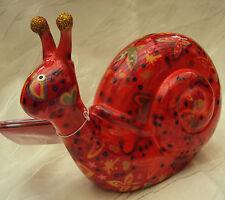 Pomme Pidou Tirelire Déco céramique figurine en céramique escargot 20 20 cm