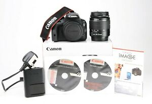 Canon EOS 100D DSLR Camera + Canon18-55mm III Lens Kit Boxed - 9,722 Shots EXC