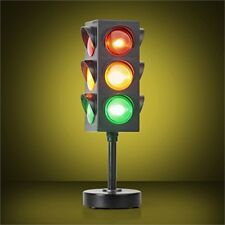LED Traffic Light Lamp - Executive Office Desk Bed Night Red Amber Green