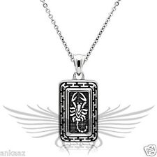 """Men's Chain Pendant of Scorpion Stainless Steel with 20"""" Chain  TK546"""