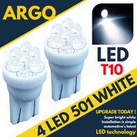 Citroen Berlingo White Sidelight Led Bulbs Xenon Quad 501 T10 W5w Van Estate 12v