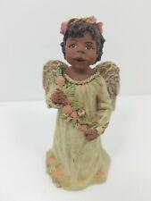 "1994 Sarah's Attic Respect Angel Figurine 4.25"" Tall Approx"
