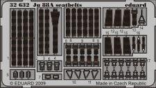 Eduard 1/32 Junkers Ju 88A seatbelts for Revell kit # 32632