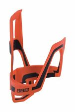Dual Cage Bottle Cage Light Weight & Secure Tight Fit Orange & Black BBC-39