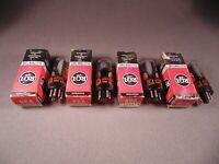 4 6V6GTA RCA HiFi Radio Guitar Amp Vintage Vacuum Tubes Matching Codes CB NOS