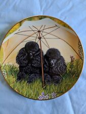 Parasol Pair By Higgins Bond The Danbury Mint Collectors Plate
