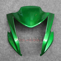 Motorcycle upper fairing fit for 12-16 Kawasaki ER-6N headlight front cover nose