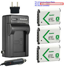 Kastar Battery AC Charger for Sony NP-BX1 BC-CSXB & Sony Cyber-shot DSC-RX1R
