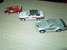 3 Modellautos Spielzeugautos aus Spritzguss Porsche 959, BMW 325, LAMBORGHINI