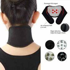 Heat Therapy Magnetic Neck Self Heating Tourmaline Support Belt Wrap Brace Cute